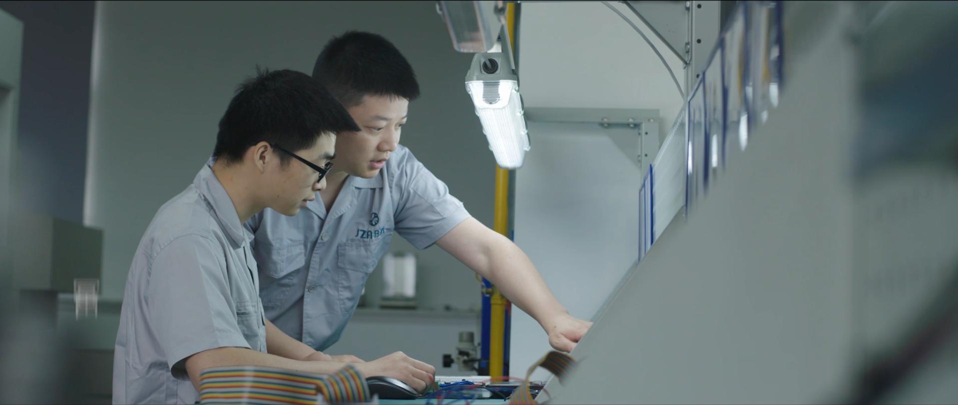 集智平衡机,为中国制造提升精度和速度